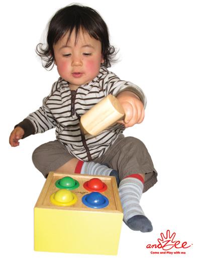 andZee Hammer Ball wooden toy